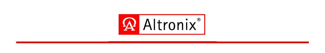 Banner de marca ALTRONIX