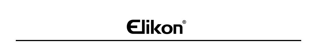 Banner de marca ELIKON