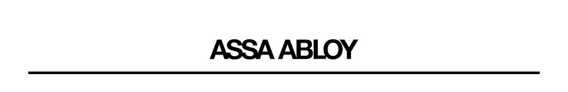 Banner de marca ASSA ABLOY